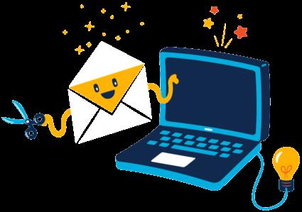 Contenu dynamique dans email