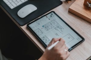 UX design app LePatron.email